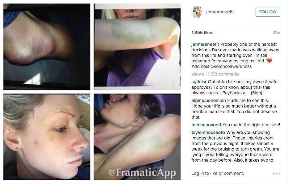 Jenna Webb DV Accuse